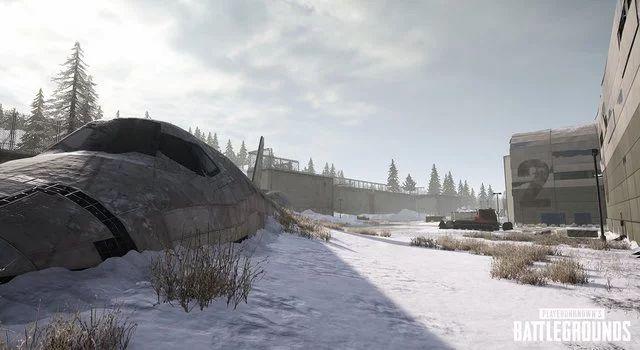 PUBG雪地地图