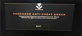 《Valorant》无畏契约反作弊安装错误解决方法