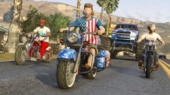 """图1:迅游国际网游加速器——《GTA5》将推""""摩托""""DLC"""